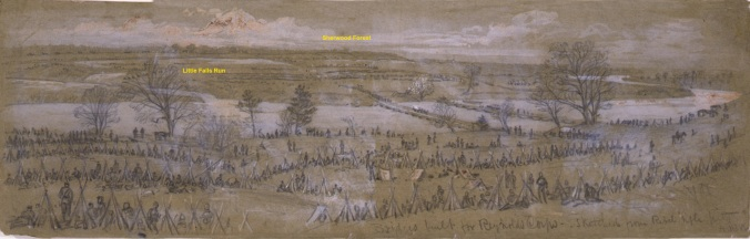 Reynolds's corps at Fitzhugh's Crossing